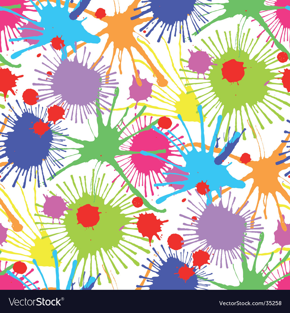 Stain pattern vector