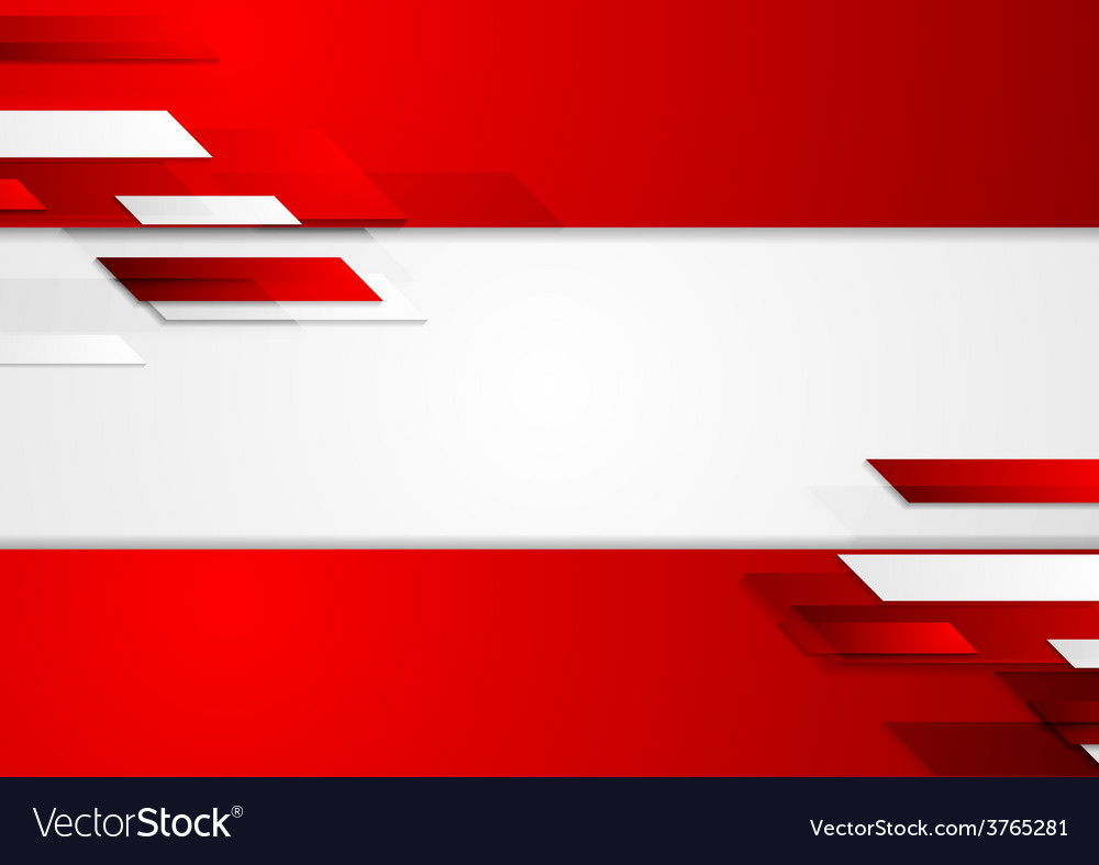 Abstract corporate geometric tech background vector