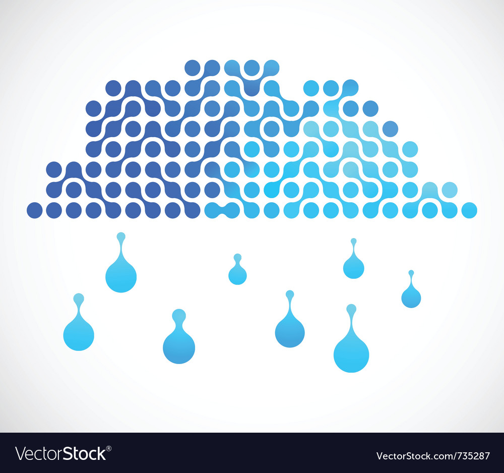Internet cloud image vector