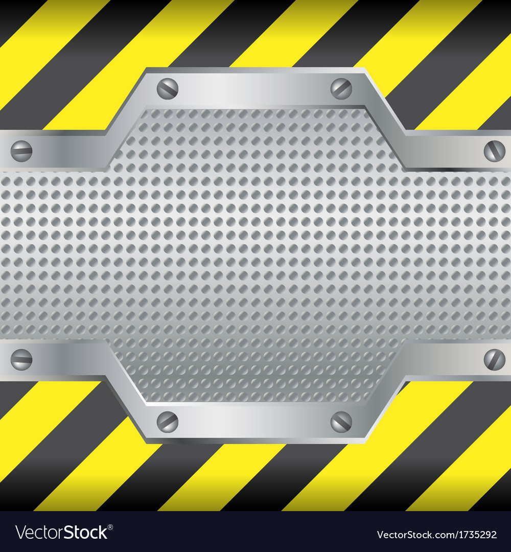 Background with black and yellow lines vector