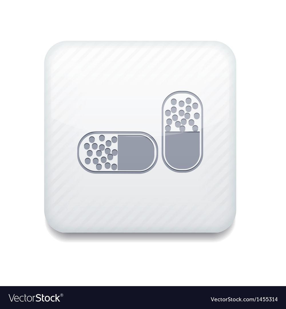 White icon eps10 vector