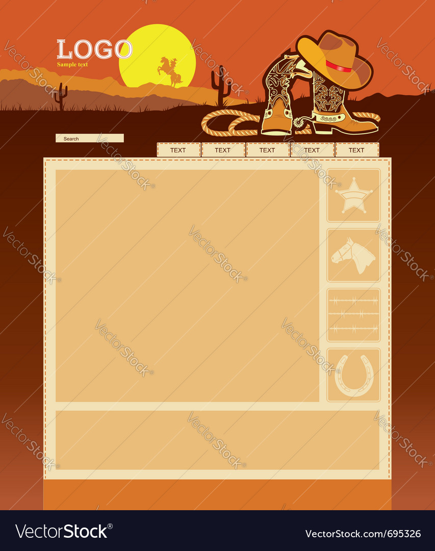 Website template background vector
