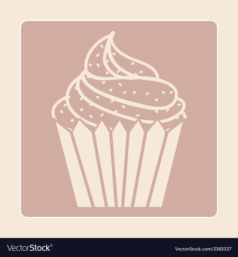 Dessert design vector