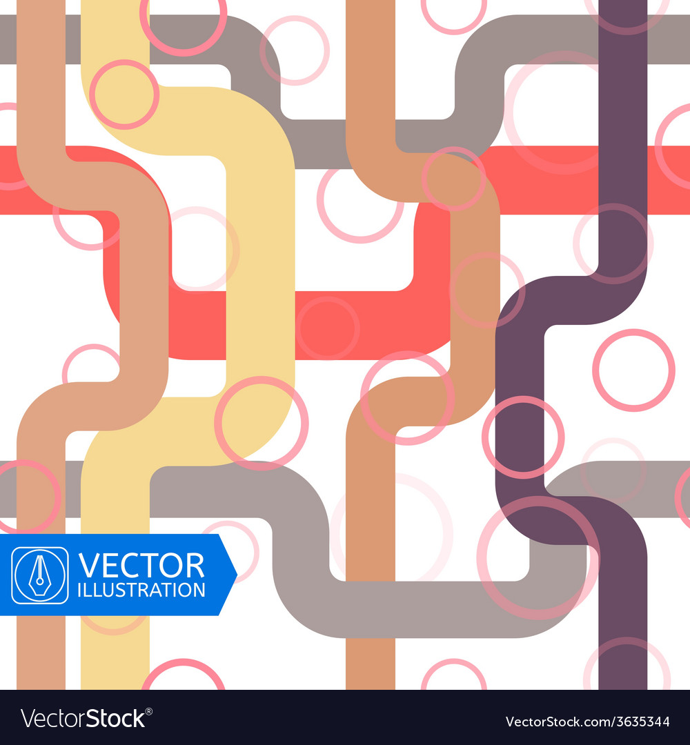 Abstract colorful seamless background vector
