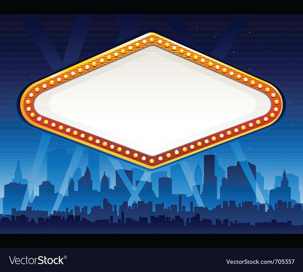 Casino sign vector