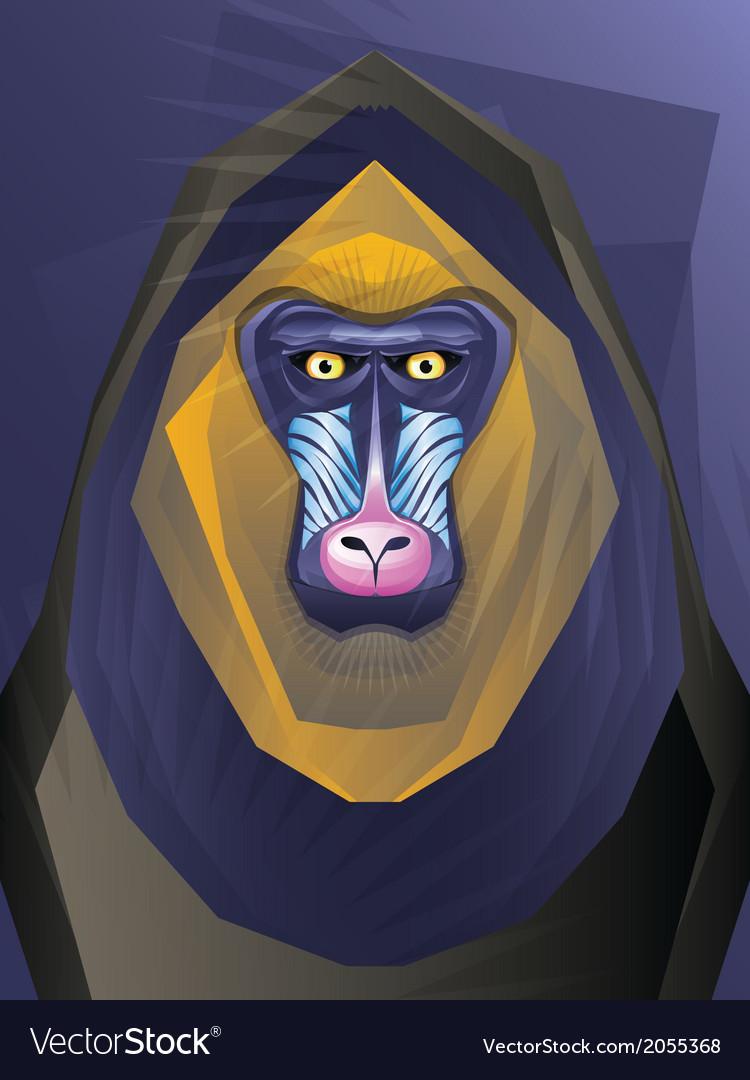 Abstract ape vector