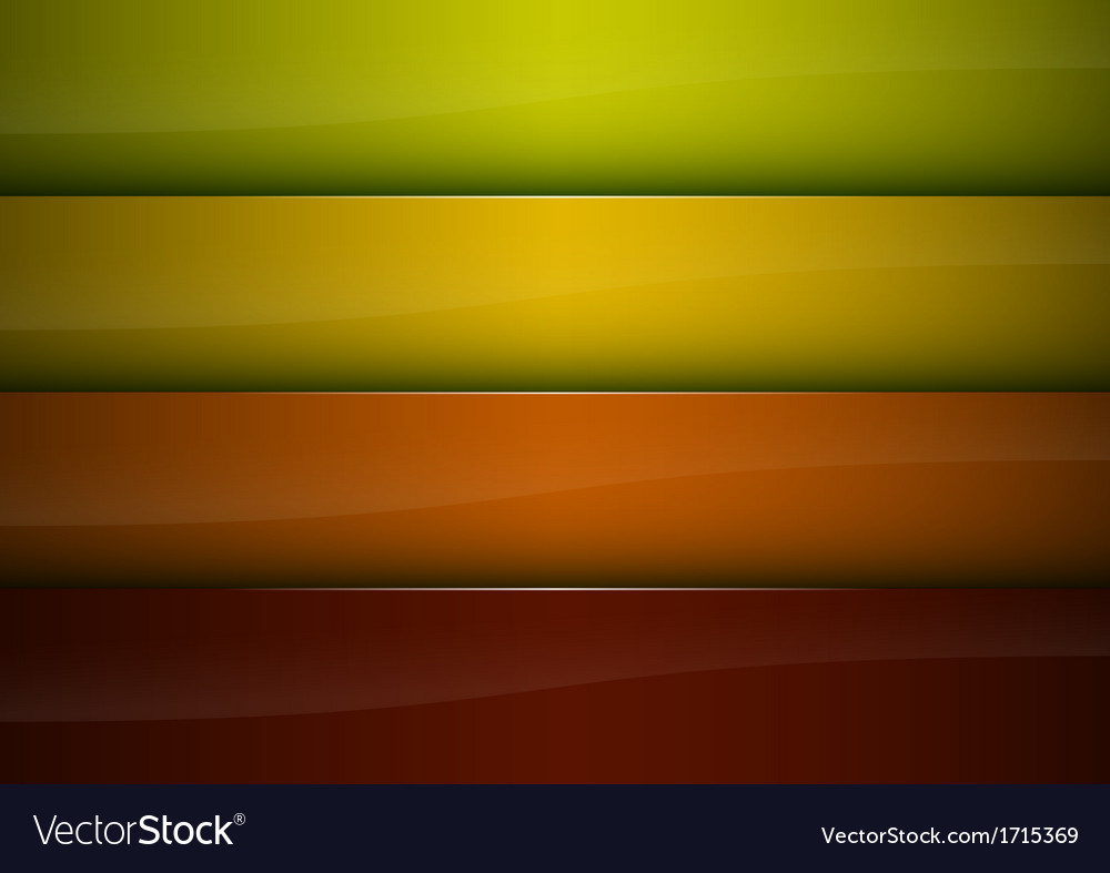 Four color background vector