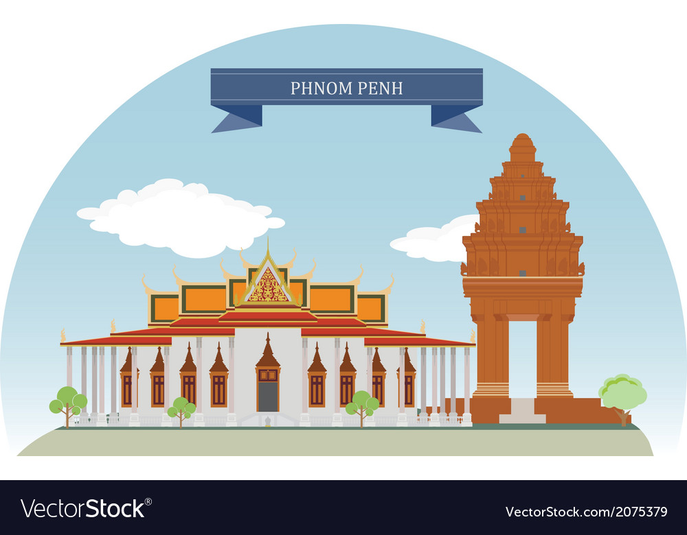 Phnompenh vector