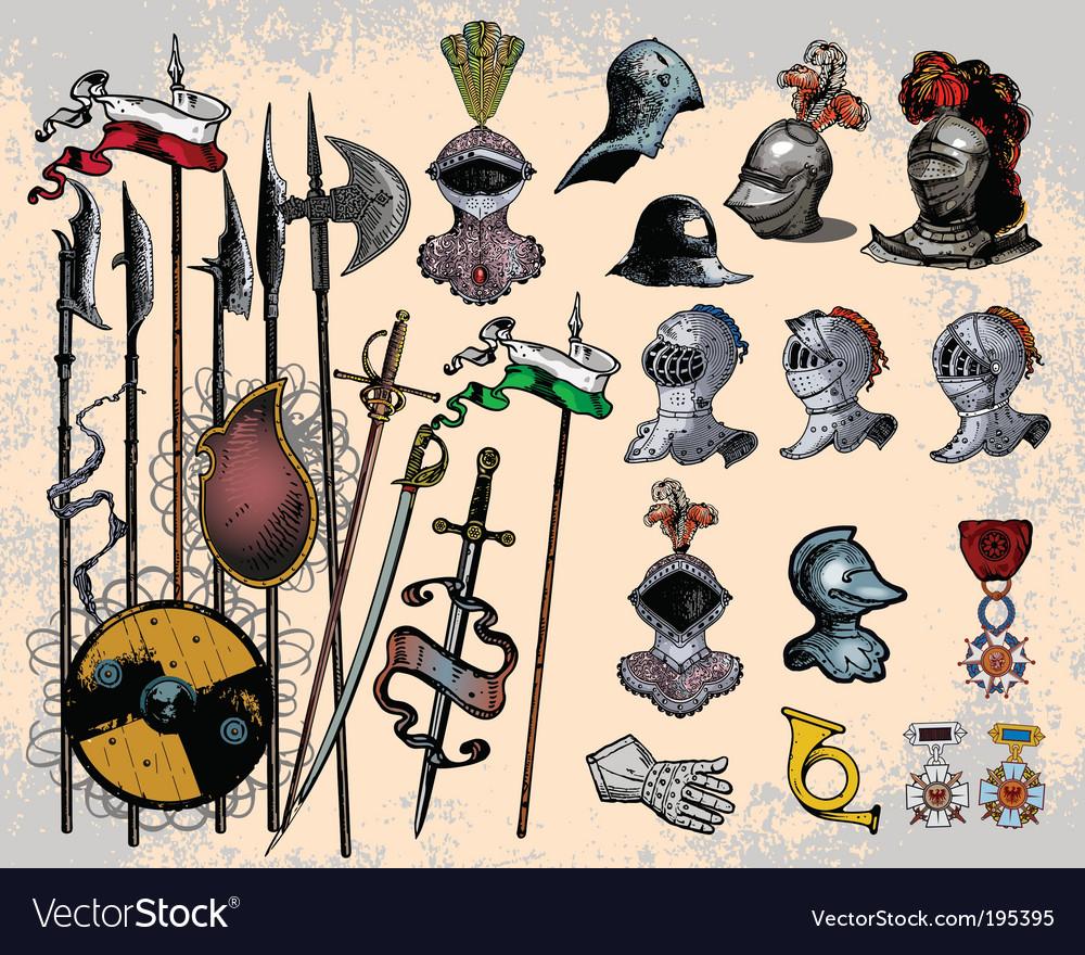 Weapons vector
