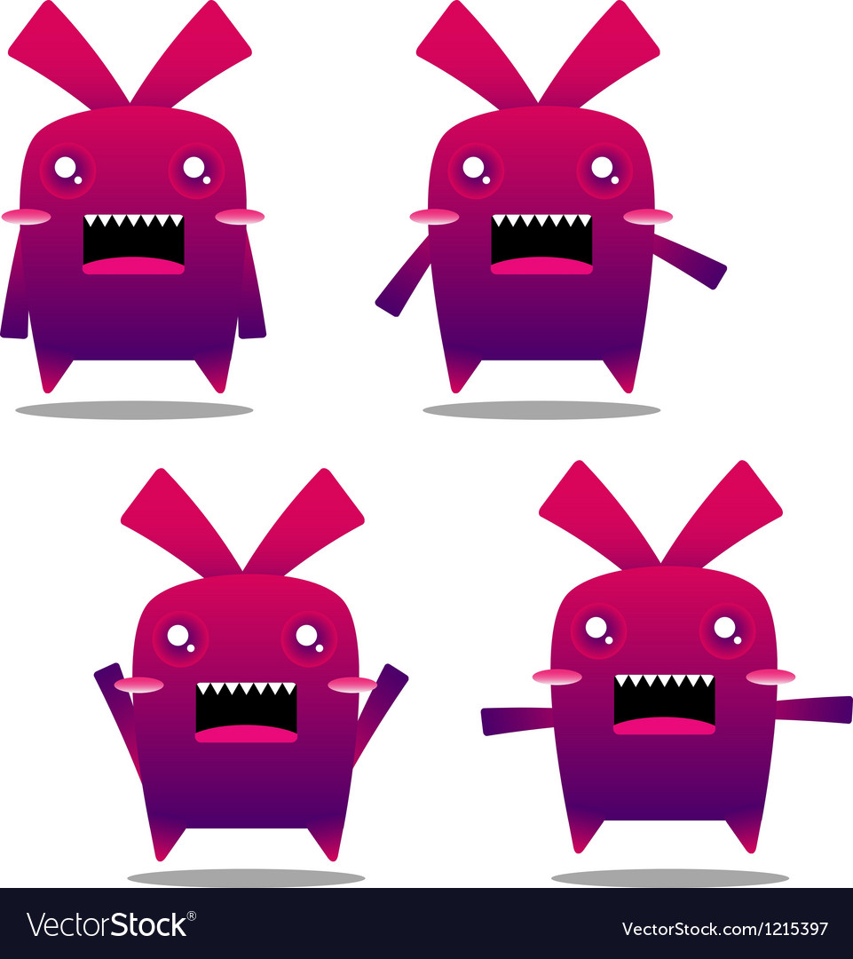 Mad rabbit vector