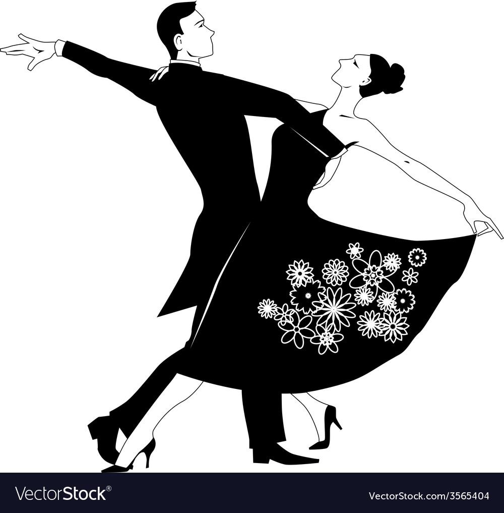 Waltz clip-art vector