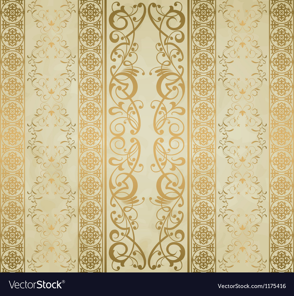 Royal background vector