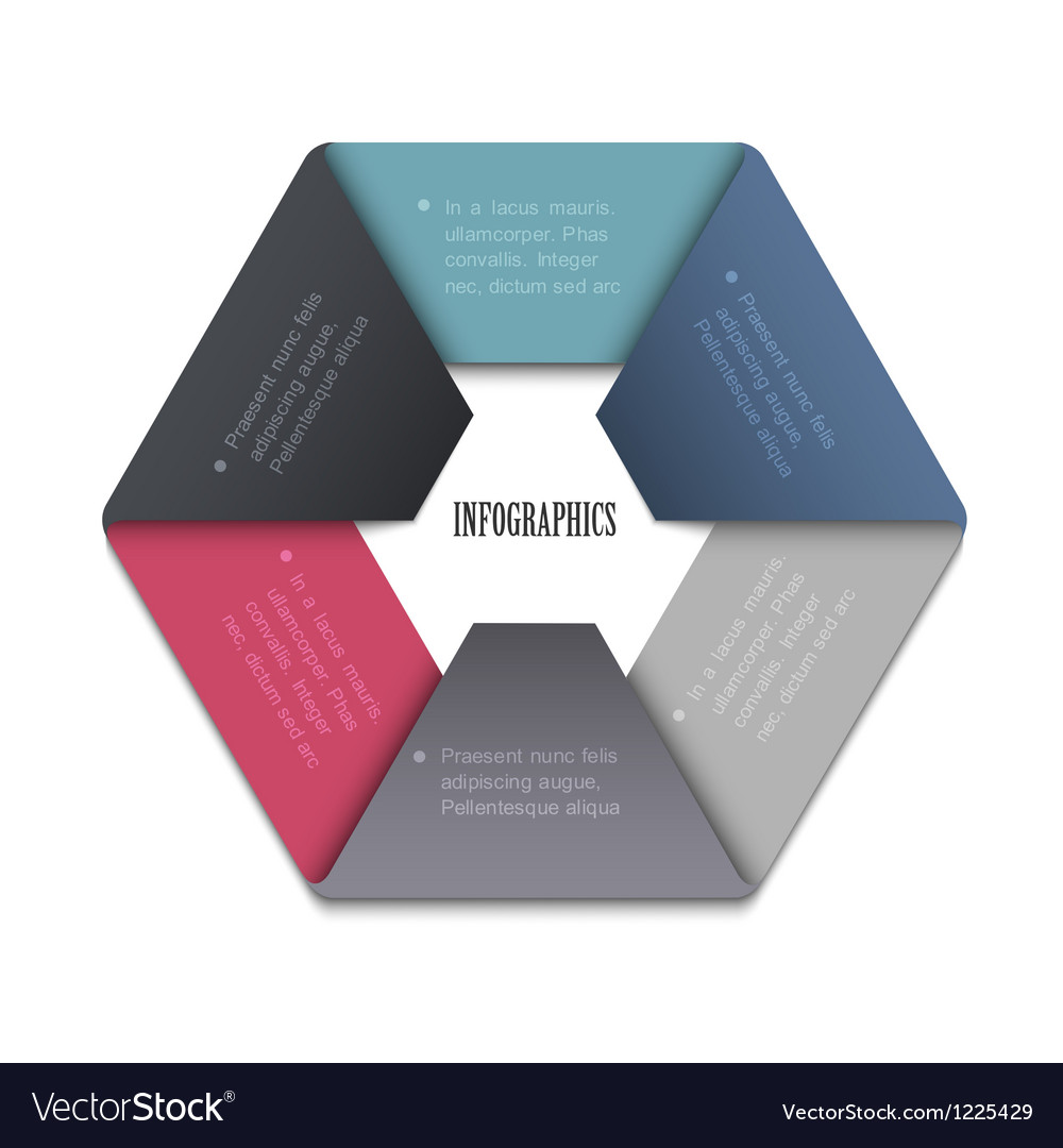 Trendy design template for website templates vector
