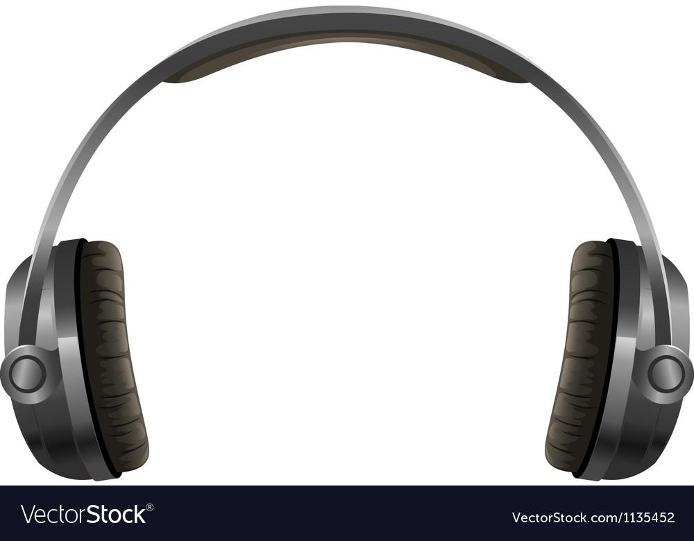 A headphone vector