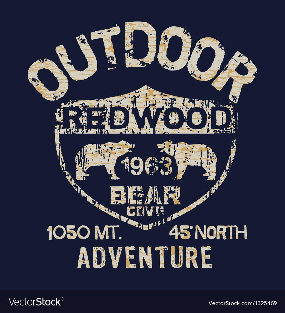 Outdoor adventure vector