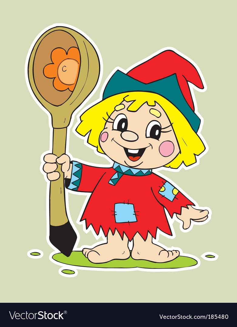 Child cartoon vector