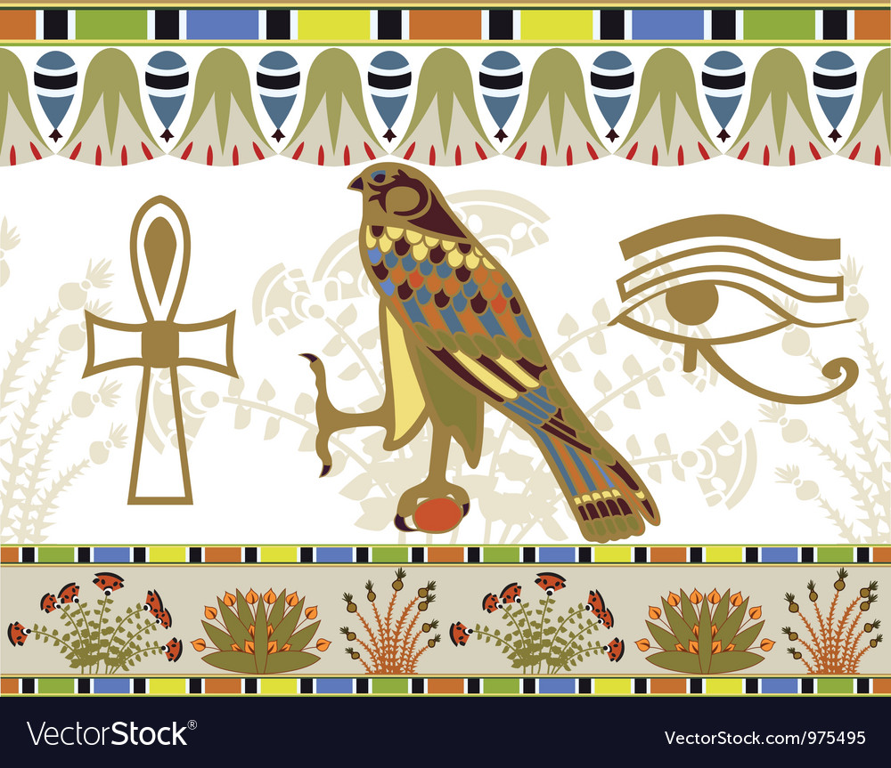 Egyptian vector