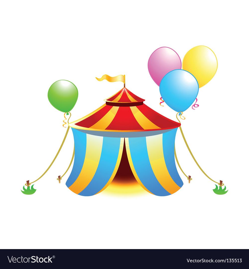 Circus symbol vector