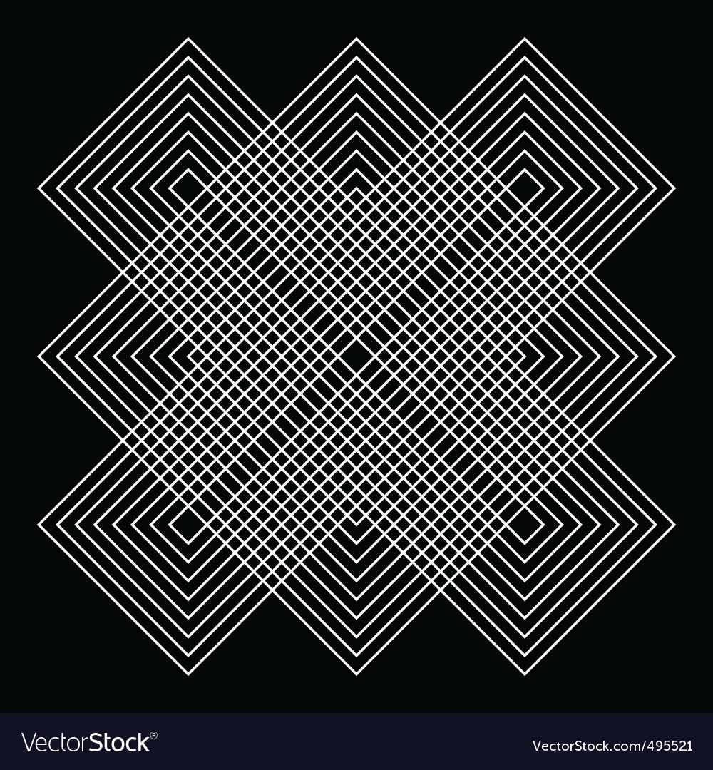 geometric illusions vector