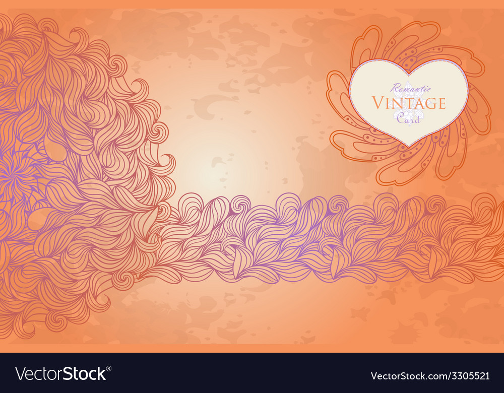 Template design for card vector