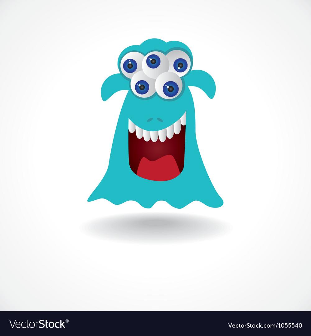 Monster eyes vector