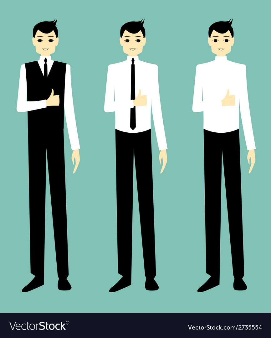Businessman success vector