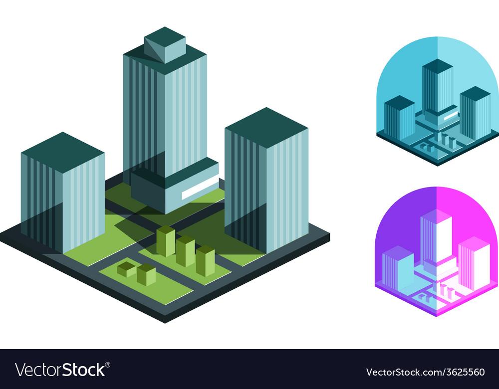 Real estate logo design template building or vector