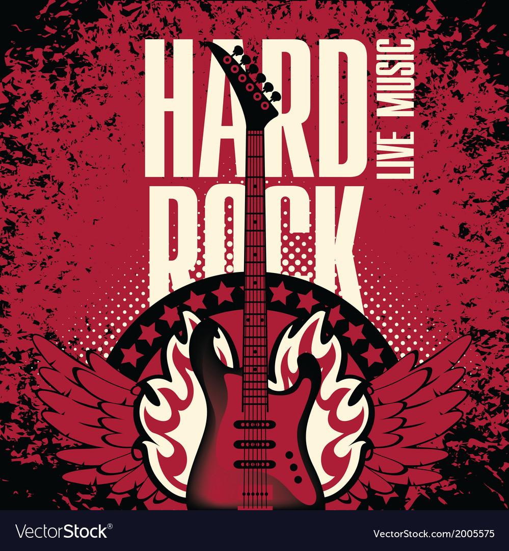 Hard-rock-music-vector