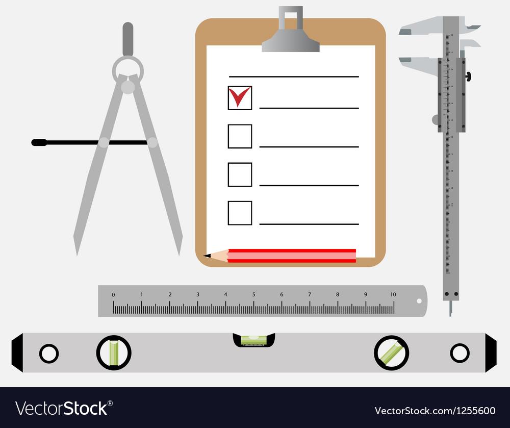 Engineering tools vector