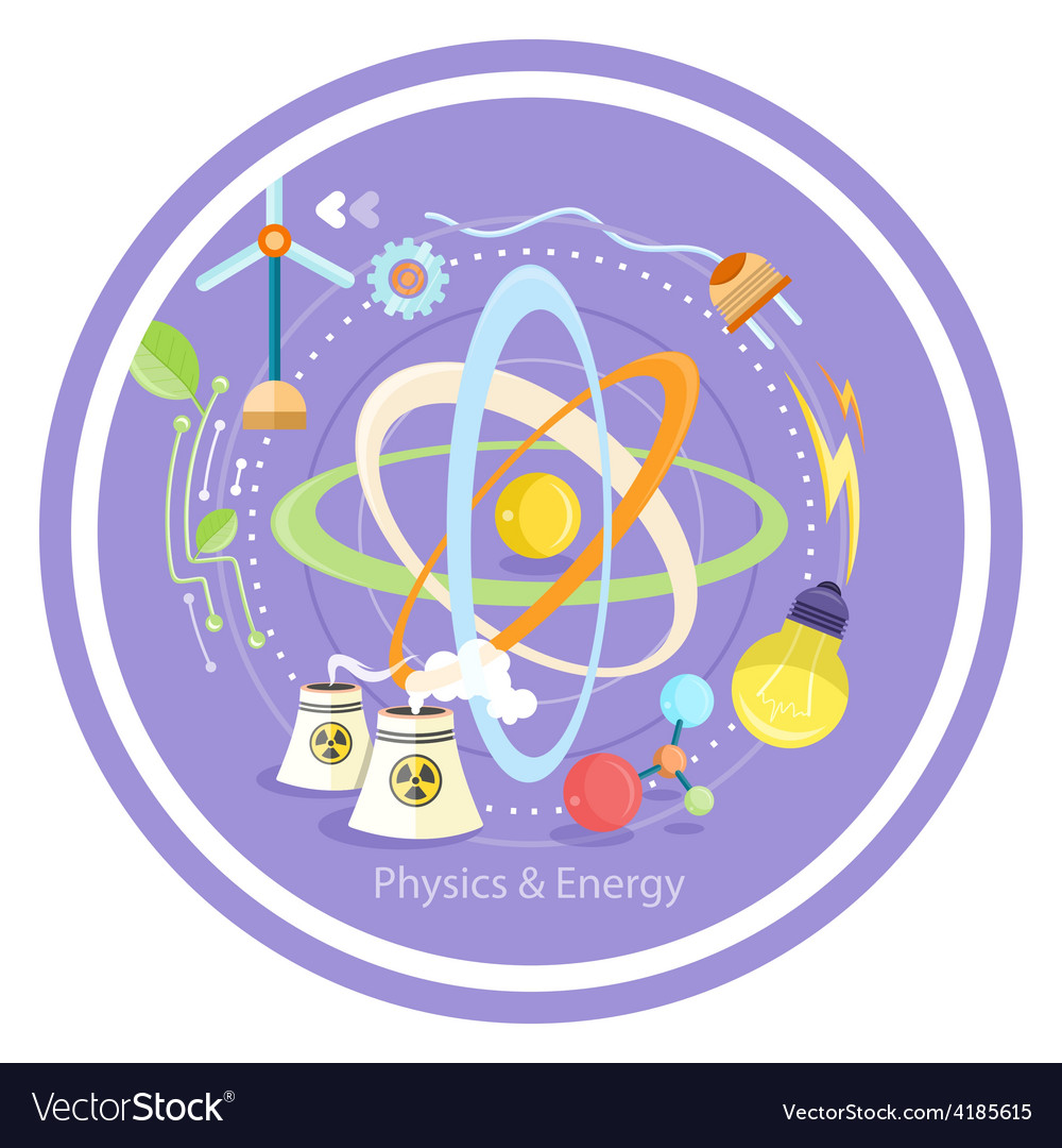 Physics energy vector