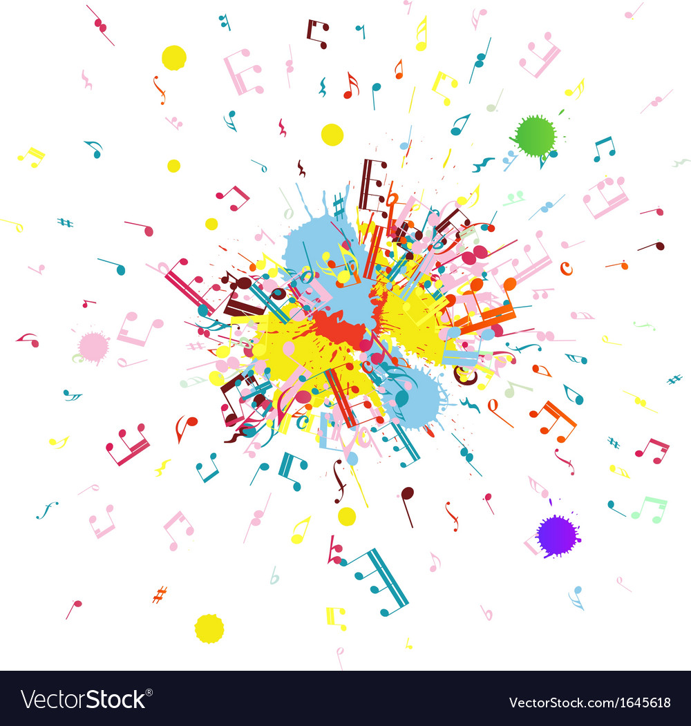 Grunge color vector