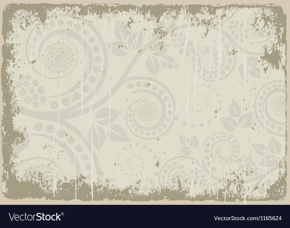 Dirty background vector