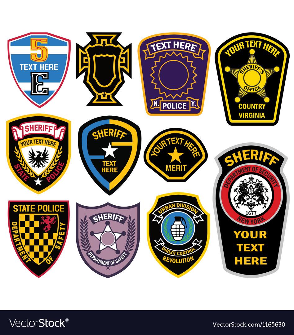 Emblem badge design vector