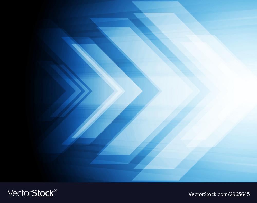 Abstract big arrow background vector