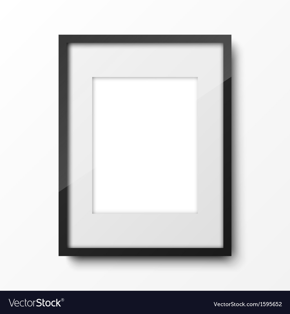 Realistic frame vector