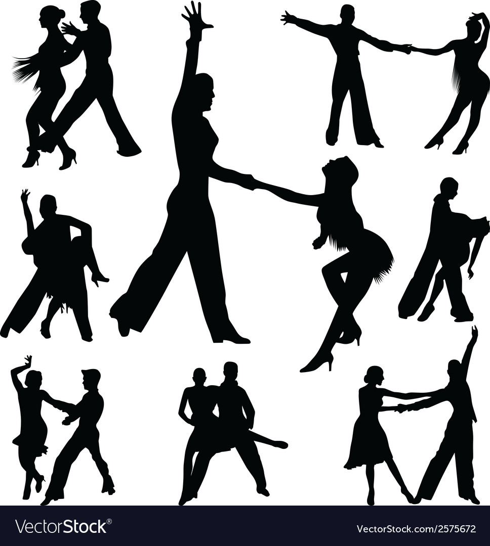 Dance people vector