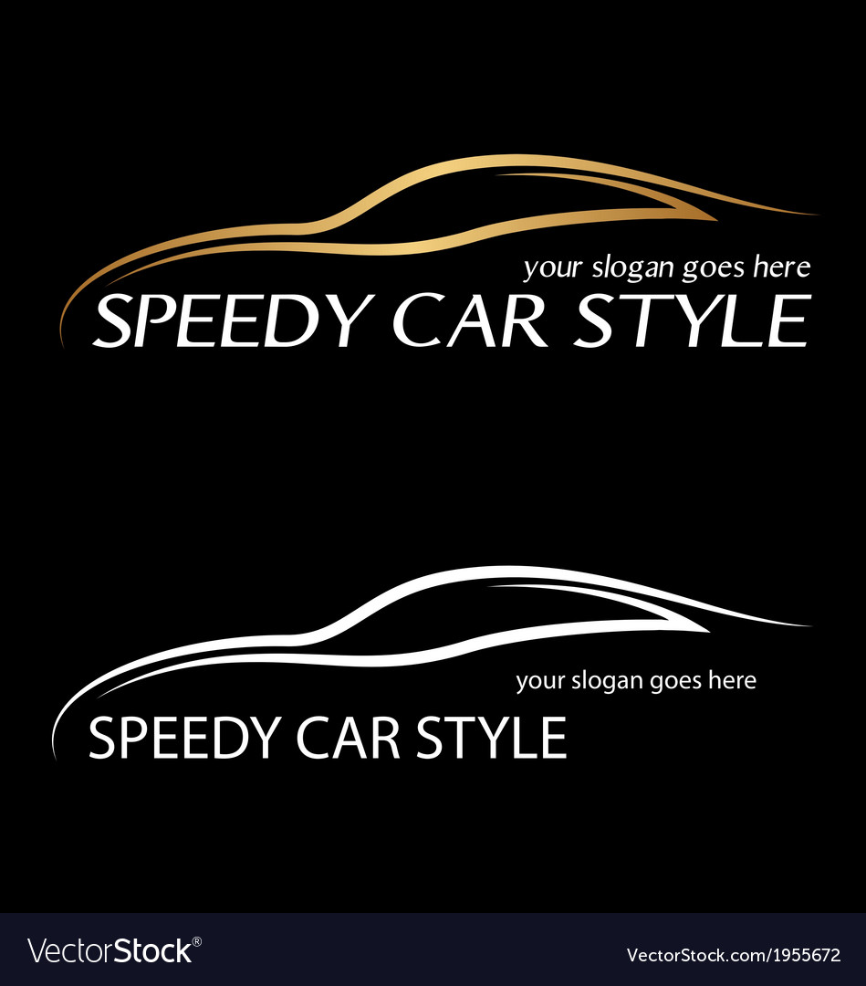 Speedy card logo vector
