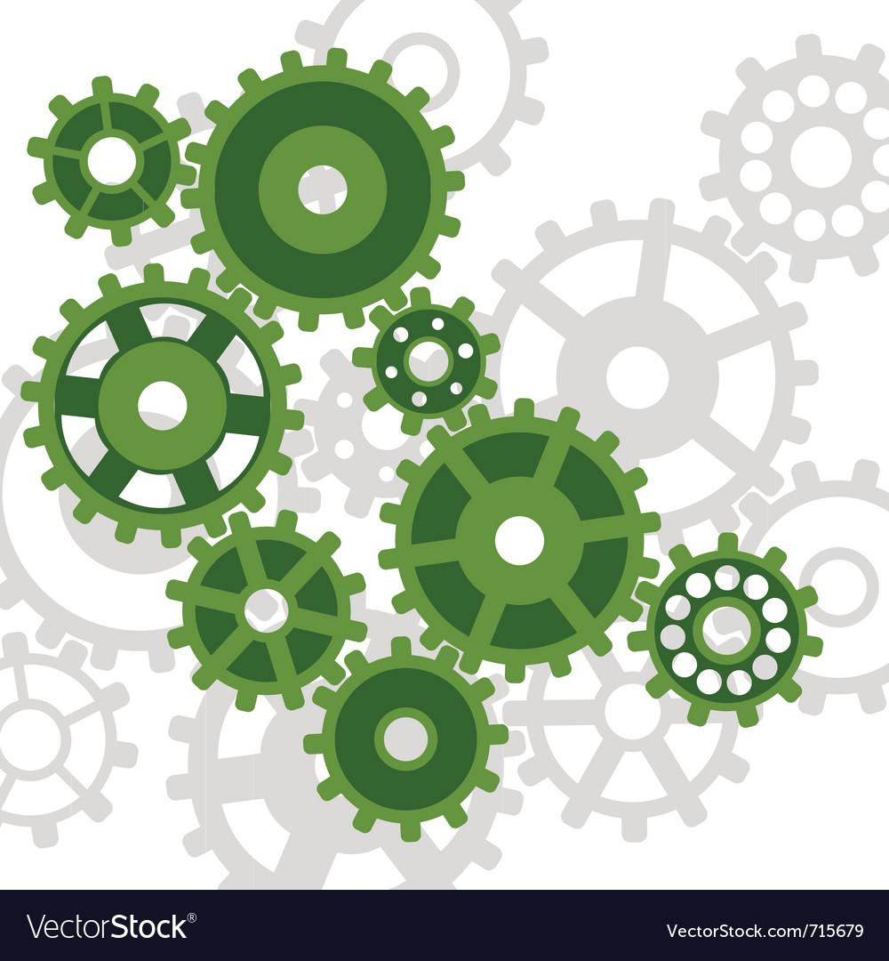 Abstract mechanism vector