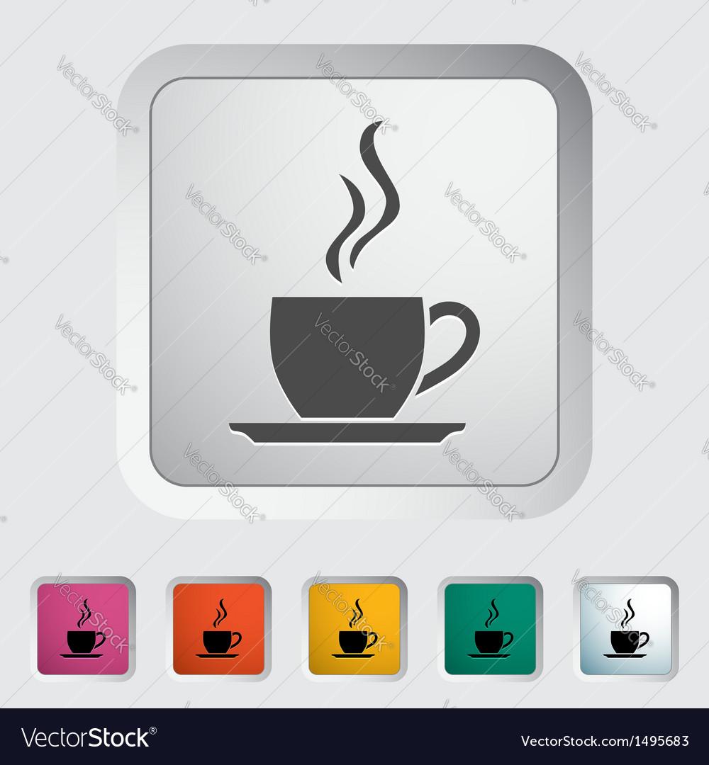 Cup of tea 2 vector