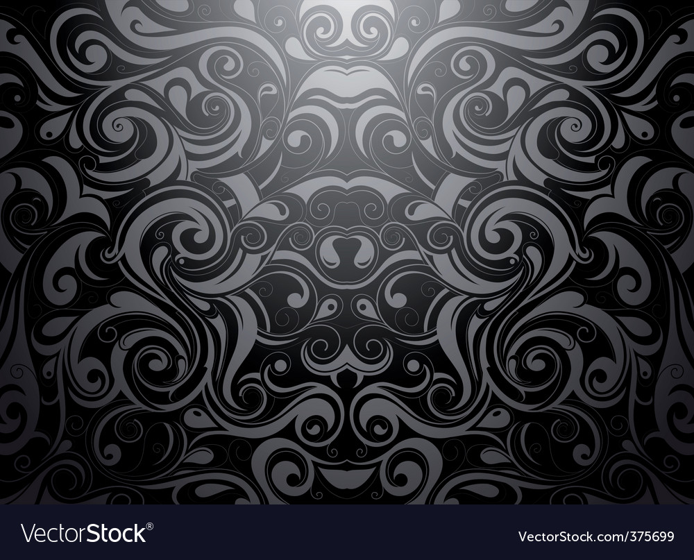 Tribal wallpaper vector