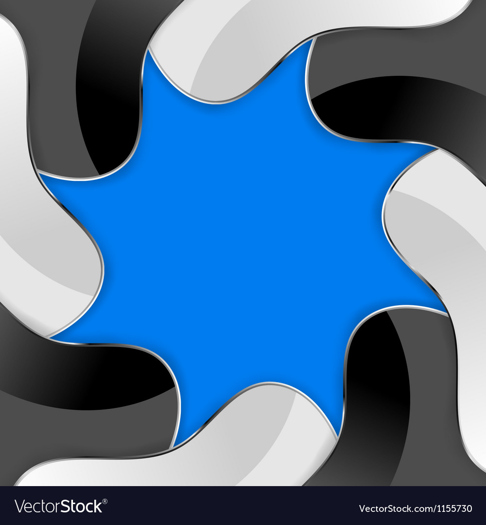 Abstract background with stylised diaphragm vector