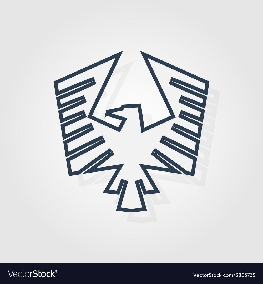 Eagle symbol - vector
