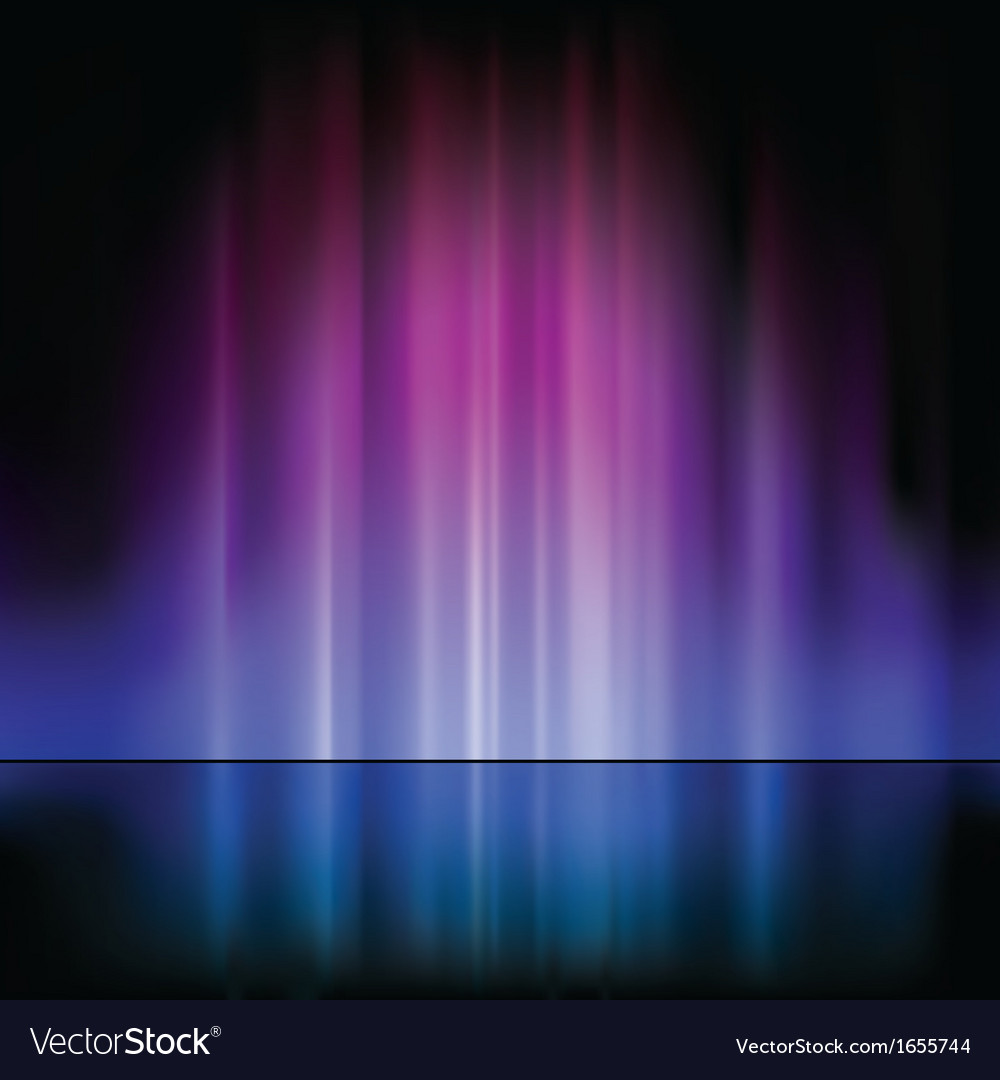 Light fountain vector