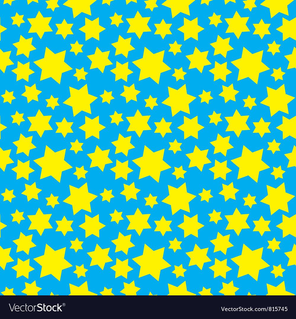 Hexagram pattern vector
