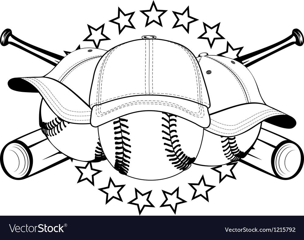 Balls in hats vector