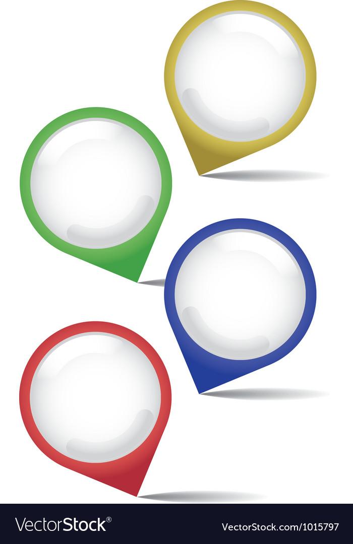 Pointer pins vector