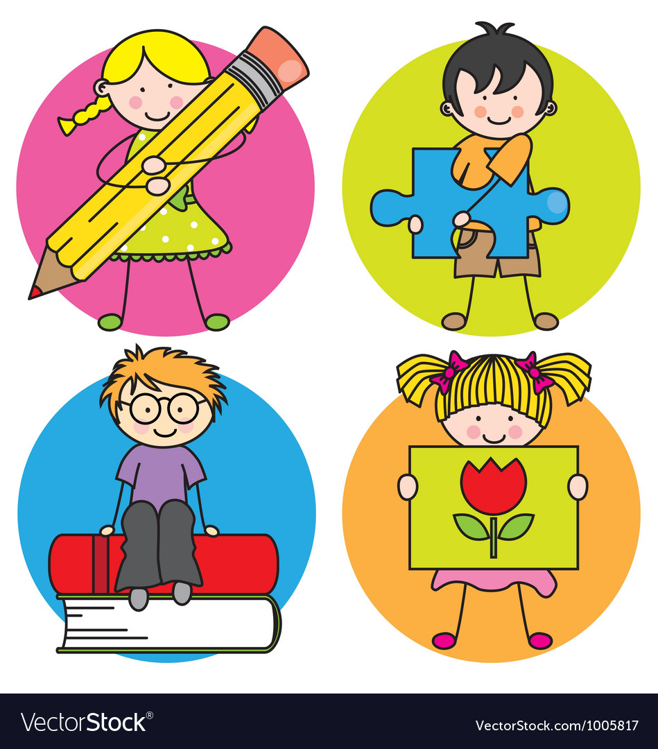 Card for education vector