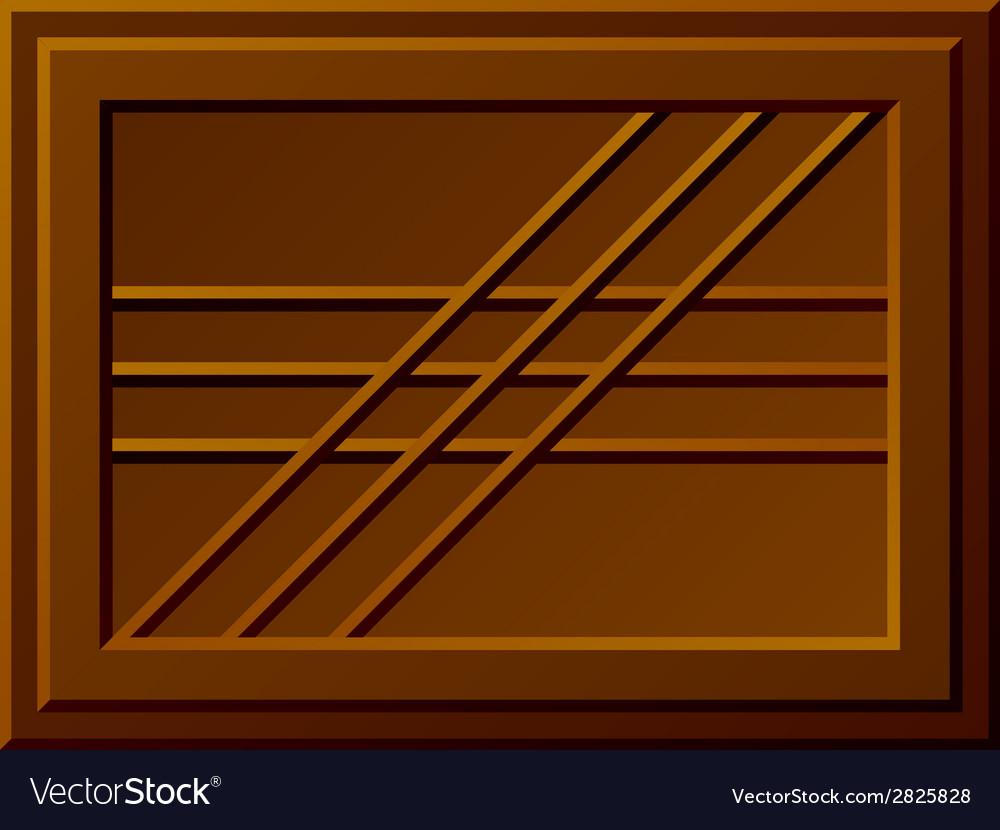 Seamless chocolate bar vector