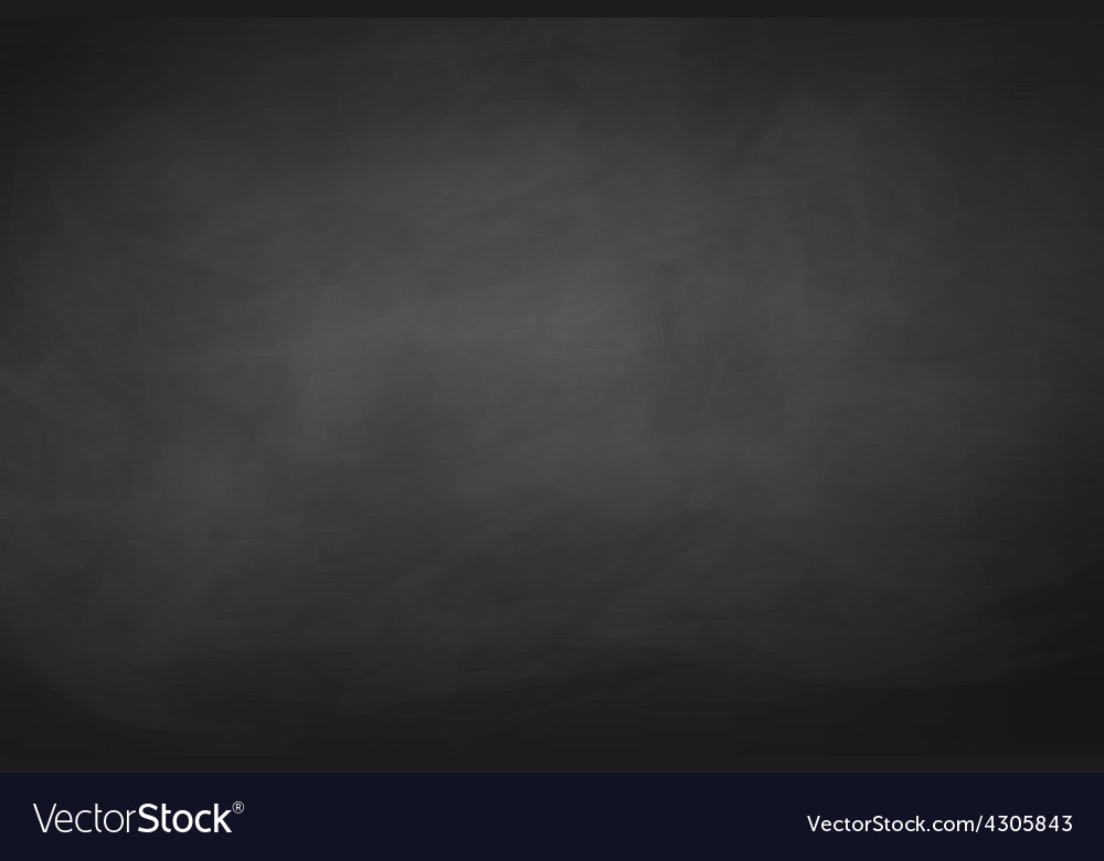 Black chalkboard background vector