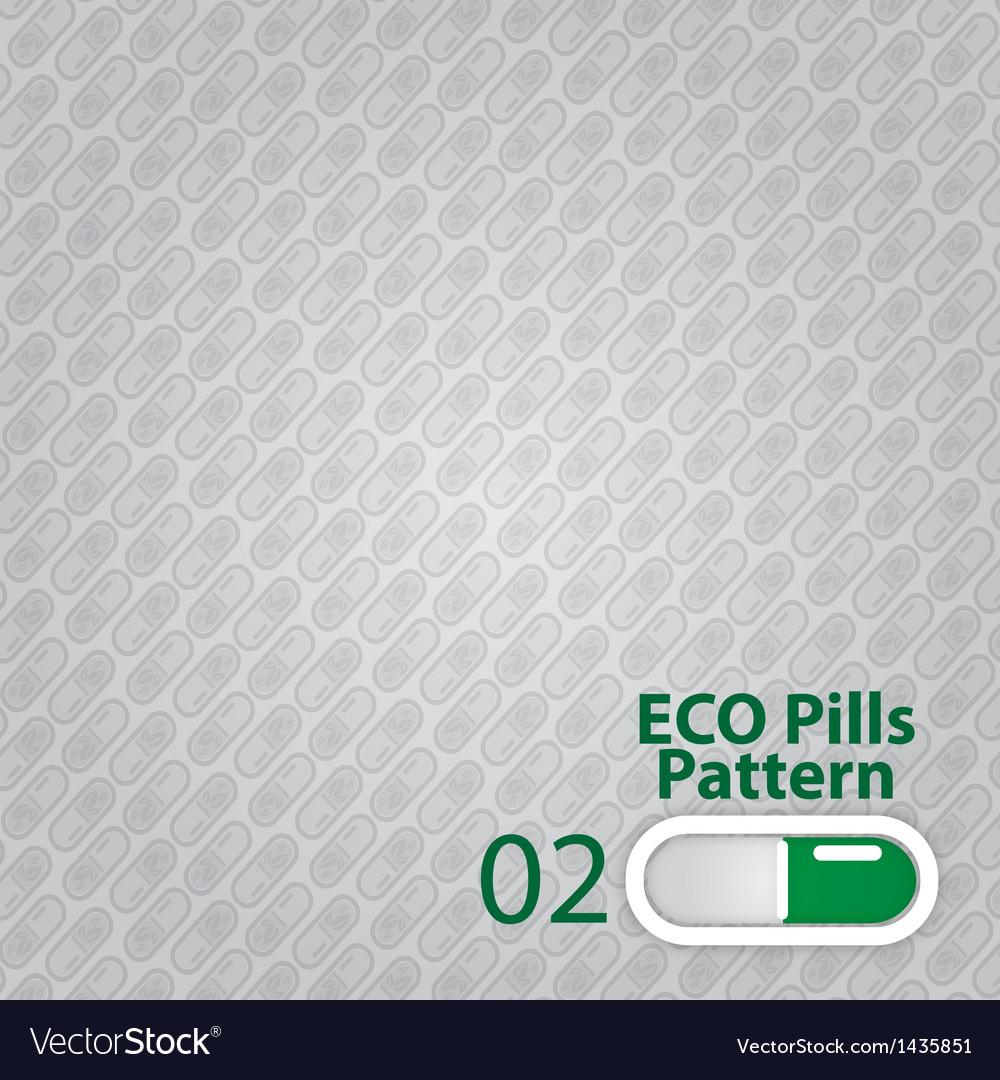 Pills pattern vector